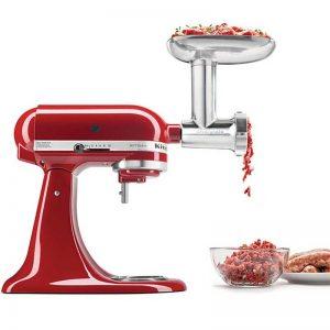Fém húsdaráló adapter KitchenAid robotgéphez